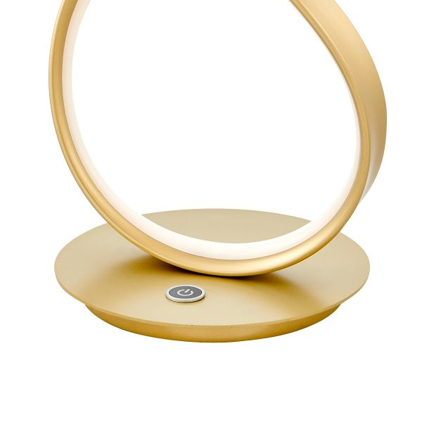 Amsterdam LED Table Lamp // Gold