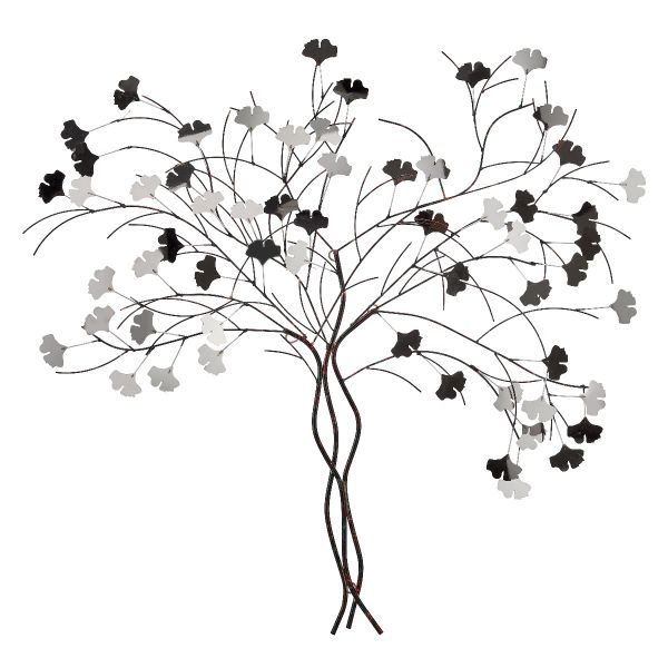 Roots Wall Art // Silver