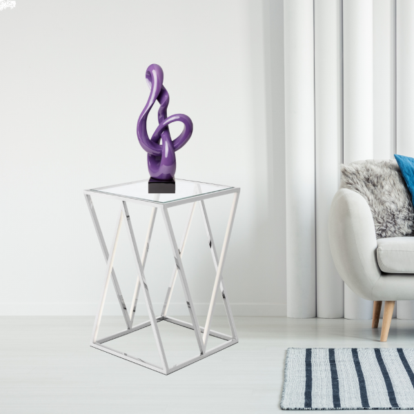 Antilia Abstract Sculpture // Small Violet