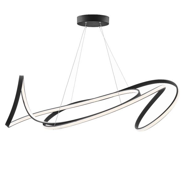 Moscow LED Chandelier // Black