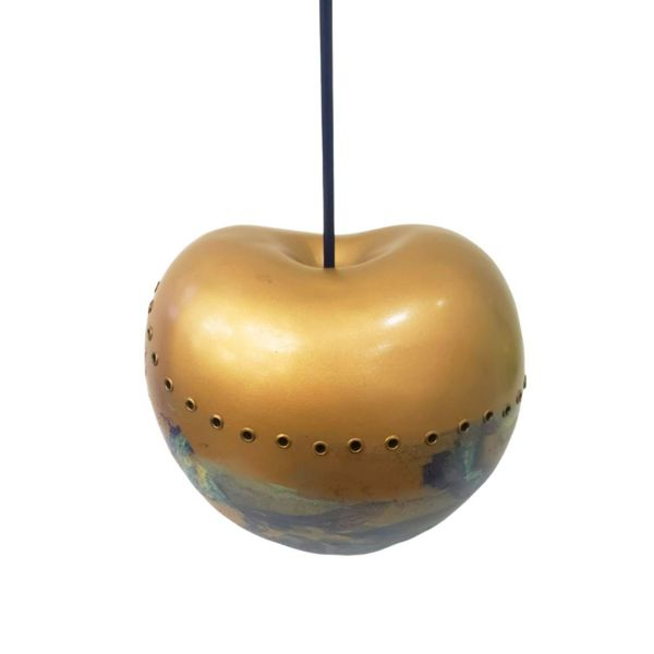 Graffiti Art Sculpture // Hand-Painted Cherry by Isis Montes de Occa