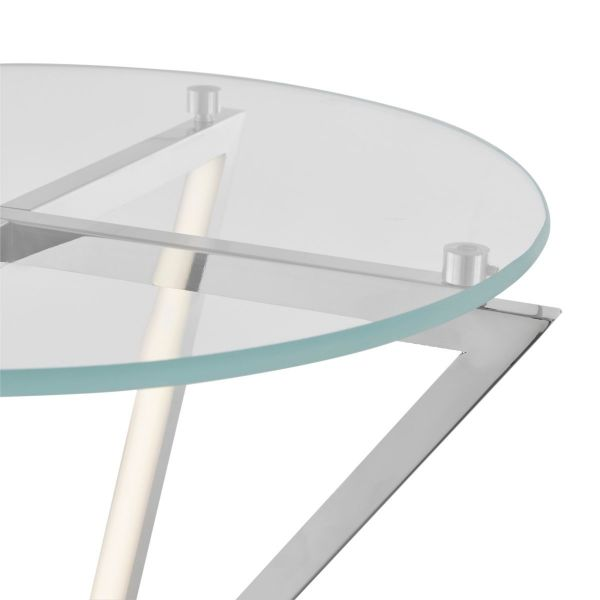 LED Side Table // Round, Small